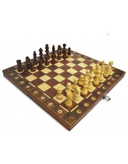 Шахматы магнитные 3 в 1 № 44