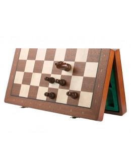 Шахматы магнитные Махагон № 40