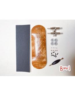 Профессиональный фингерборд fingerboard 34мм Burl