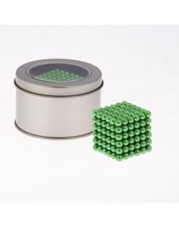 Неокуб, neocube 5мм 216шт зеленый